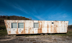 Abandoned Mobile Home (HubbleColor {Zolt}) Tags: westvirginia abandoned mobilehome trailer 21stcenturyamericana