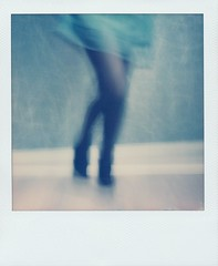 Just dance dance dance! (gambajo) Tags: woman girl dance polaroid