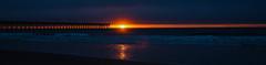 Sliver of light (phillipjv) Tags: d750 nikon surfcity northcarolina beach sunrise sun sand pier waves shells