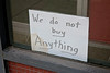 We Do Not Buy Anything, Scranton, PA (Robby Virus) Tags: scranton pennsylvania pa sign signage window we do not buy anything