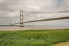 Humber Bridge (stevefge) Tags: hull humber rivers reflectyourworld bridges landscape cloud