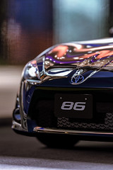 Toyota GT86 (Framed Pixels) Tags: toyota gt86 gt 86 race car sports sportscar night club orange blue outdoor city lighting headlight bumper reflection black gran turismo granturismo 5 6 sport adobe lightroom render party luxury red bull hanger 7 game gaming austria deadendthrills screenshot automotive photography
