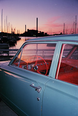 untitled (amanda aura) Tags: film helsinki finland konicazup130e cityscape car