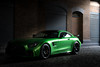 Green Day (sdupimages) Tags: rue street londres london vert lowkey gt voiture auto green car supercar biturbo v8 amg mercedes