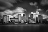 Canary Wharf (Alan E Taylor) Tags: architecture atmospheric bw10stopfilter blackwhite blackandwhite building business canarywharf city cityscape england europe lightroom longexposure macphun macphunintensifyck macphuntonalityck mono monochrome noiretblanc office thames tourism tourist tower travel uk unitedkingdom