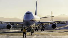Kalitta Air (colombian907) Tags: anc panc anchorage alaska airport planespotting kalitta air kalittaair n402kz k4918 worldteamaviaitonphotography