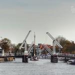 Gravestenenbrug, Binnen Spaarne, Haarlem, Netherlands - 5593 thumbnail