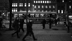 King Street 5:15pm (Roozbeh Rokni) Tags: kingstreet toronto ontario canada street ttc streetcar city people roozbehrokni