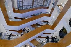 Up and down (jehazet) Tags: warenhuis departmentstore roltrappen escalator interior interieur shop winkel kopenhagen illum