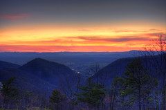 Blue Ridge Parkway Buena Vista sunset (cmfgu) Tags: buenavistaoverlook view blueridgeparkway vesuvius va rockbridgecounty virginia nationalparkway blueridgemountains appalachianmountains sunset twilight dusk colorful clouds mountains hdr highdynamicrange craigfildesfineartamericacom fineartamericacom craigfildespixelscom artist artistic photographer photograph photo picture prints art wall canvasprint framedprint acrylicprint metalprint woodprint greetingcard throwpillow duvetcover totebag showercurtain phonecase mug yogamat sale sell buy purchase gift craigfildesphotography