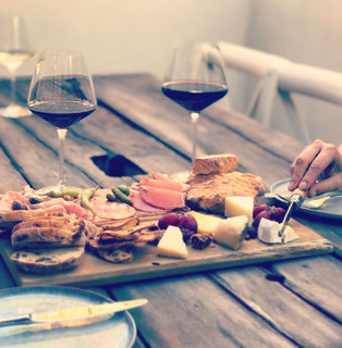 Cured meats and cheese by Samson's Paddock!