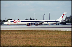 N29UA - Miami (MIA) 21.01.1997 (Jakob_DK) Tags: dc86 dc861f douglas mcdonnelldouglas dc8 mcdonnelldouglasdc8 dc861 mcdonnelldouglasdc861 mcdonnelldouglasdc861f cargo kmia mia miamiinternationalairport wilcoxfield fbf fineair 1997 n29ua