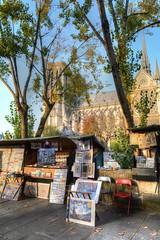 Bouquiniste (manakel) Tags: paris france manakel laseine notredame cathedrale bouquin saintmichel bouquiniste