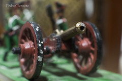 old tin cannon. (pedrojateruel) Tags: cannon tin soldiers