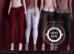 [I<3F] Leggings [06] [undress me] @Shiny Shabby (Ainadara Resident) Tags: i3f maitreya undress me unwear shiny shabby mesh original pants