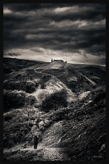 The Path to Valhalla (Geoff Moore UK) Tags: clouds castle rain cold windy welsh welshcastle castelldinasbran valley welshvalleys high rocky craggy path trail hiking adventure overnight castleruins outdoors finding heavy storms fortress old ruins dee wales deevalleywales