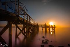 Sunrise on the Hudson.jpg (Dan NYNJ) Tags: goldenhour newyork nikon pier water hudsonriver boatslip neutraldensityfilter dock waterfront river goldensun nikon1635f4 rocklandcounty hudson waterscape nyack nikond750 longexposure ndfilters