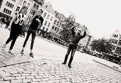 The Prophesy (kirstiecat) Tags: antwerp antwerpen belgium europe strangers people street canon blackandwhite noiretblanc monochrome monochromemonday