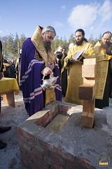37. Закладка собора в г. Святогорске 01.11.2009