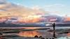 _SIRMIONE (Saverio B.) Tags: giallo cielo tramonto acqua lago veneto italia