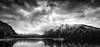 Lake Minnewanka (qualistat) Tags: clouds moraine lake banff alberta lakeminnewanka