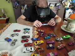 A highly skilled expert appraises a portion of my vintage Hot Wheels cars. I've been collecting since 1968 when one of my best friends in 5th grade showed me his '67 Firebird in metallic Spectraflame blue. I became immediately hooked! (wavz13) Tags: oldcars vintagecars 1960scars 1970scars collectiblecars collectablecars oldtoycars vintagetoyscars 1960stoycars 1970stoycars collectibletoycars collectabletoycars oldmattel vintagemattel oldmatteltoys vintagematteltoys 1960smatteltoys 1970smatteltoys collectiblematteltoys collectablematteltoys oldhotwheels vintagehotwheels 1960shotwheels 1970shotwheels magwheels redlines oldredlines vintageredlines 1960sredlines 1970sredlines collectibleredlines collectableredlines vintagemagwheels 1960smagwheels 1970smagwheels