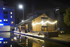 Piri Fino, The Wharf, Walsall 16/09/2017 (Gary S. Crutchley) Tags: the wharf piri fino restaurant uk great britain england united kingdom urban town townscape walsall walsallflickr walsallweb black country blackcountry staffordshire staffs west midlands westmidlands nikon d800 history heritage local night shot nightshot nightphoto nightphotograph image nightimage nightscape time after dark long exposure evening travel street slow shutter raw canal navigation cut inland waterway bcn narrowboat nightlife moorings