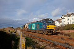 Unrecorded; Record Shot (Richie B.) Tags: 6c51 seascale cumbria fna nuclear flask drs direct rail services vossloh stadler class 68 68034 68004
