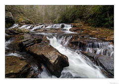 Cascades on Big Panther Creek (John Cothron) Tags: 15mm americansouth bigpanthercreek cpl canoneos5dmkiv carlzeiss chattahoocheeoconeenationalforest clarkesville cothronphotography distagon1528ze dixie georgia habershamcounty johncothron southatlanticstates southernregion thesouth us usa unitedstatesofamerica zeissdistagont2815mmze afternoonlight autumn cascade circularpolarizingfilter clouds cloudy cloudyweather creek diffuse environment fall flowing forest freshwater hiking landscape longexposure nature outdoor outside overcast protected river scenic stream water img22348171118 ©johncothron2017 cascadesonbigpanthercreek
