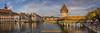 Luzern (~ernesto~) Tags: luzern pano panorama kapellbrücke holzbrücke wasserturm rathaussteg sehenswürdigkeit rathausquai herbst reuss hofkirche abendlicht lu rathaus schweiz ernesto aschi olympus omd zusammengesetzt gesticht