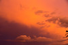 Fire on High (obLiterated) Tags: cloudsweather brisbane orange sunset storm stormclouds