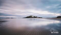 Pink and Blue Morn (macdad1948) Tags: devon beach sunrise ringmore coast bigbury rocks burghisland hotel bigburyonsea