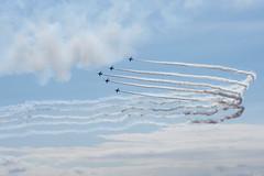 空 (23fumi@fuyunofumi) Tags: ilce7rm3 sony fe85mmf18 sel85f18 ブルーインパルス 航空祭 aerobatics jsdf 展示飛行 blueimpulse jet airplane