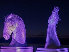DSC_0021 (Paul Wynn Photography) Tags: standrewsdayirvineharbourilluminations familyfun nikondigital nikond5300 colours irvine irvineharbour scotland westcoast night harbour wetnwild groovy