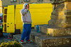 In a world of his own with a bottle of his own (Geordie_Snapper) Tags: canon5d3 canon70200mmf4islusm fridaymarket helmsley northyorkshire november street sunnyday verycoldday winter