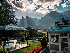 Cantacuzino Castle - Romania (manolache_manolache) Tags: mountai alive autumn awesome amazin art air addict nature beauty color cliff contrast day destination destinations dslr earth europe formations fall fantasy gx85 grass gx8085 hill hills happy happiness hike photography photo shoot thirds landscape ligth light life land travel trip animal tree mountain castle
