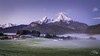 Watzmann (Stahlinho) Tags: 6d alpen berchtesgarden berge ferien kirche königssee landschaft mariagern morgen nebel urlaub watzmann