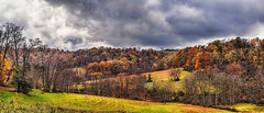 IMG_2128-30Ptzl1scTBbLGER2 (ultravivid imaging) Tags: ultravividimaging ultra vivid imaging ultravivid colorful canon canon5dmk2 clouds stormclouds scenic sky evening autumn autumncolors vista rural rainyday trees twilight fields farm landscape lateafternoon panoramic pennsylvania pa