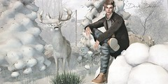 POST🔥 #1093 | STRAY DOG | Winter Trend | NOIR | Men Only Monthly | Man Cave | (DuáDecor) Tags: wintertrend noir menonlymonthly mancave locktuft duadecor straydog