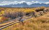 The Fence (E.K.111) Tags: grandteton nature nationalpark autumn usa outdoor hdr canon5dmarkiii