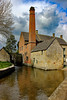 The Old Mill at Lower Slaughter (clivea2z) Tags: unitedkingdom greatbritain gloucestershire cotswolds lowerslaughter mill waterwheel rivereye