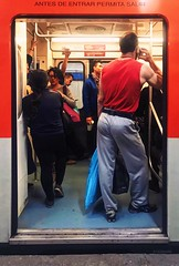 I took this picture in the Mexico City metro, yet it looks more like Moscow (Frederik Trovatten) Tags: mexico city street photography streetphotography streets moscow mexicocity cdmx