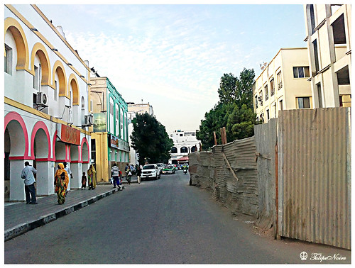 A typical street scene in Djibouti  [D]