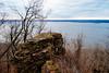 In Yan Teopa Rock at Frontenac State Park, Minnesota (Tony Webster) Tags: frontenacstatepark inyanteopa inyanteoparock lakepepin minnesota mississippiriver autumn fall river rock frontenac unitedstates us