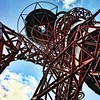 Visiting the 2012 Olympic Monument, the ArcelorMittal Orbit (jackscrowe) Tags: stratford monument olympics london carsten höller anish kapoor slide