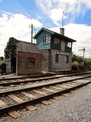 Signal Boxes 17 (Milepost 67) Tags: ireland countyleitrim dromod dromodrailwaystation railway railways irishrailways irishrail iarnrodeireann signalbox signalboxes dromodsignalbox dromodstationcabin