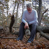 Resting on hike (Eric.Ray) Tags: canon point shoot outdoors square selfie self portrait natural light suffolk county