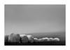 hay bales in the fog (Velaeda) Tags: austria carinthia knappenberg kärnten bw schwarzweis frame landscape minimal
