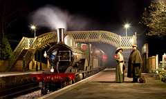 T3 at Corfe Castle. (Jack Haynes Photography) Tags: lswr t3 563 corfe castle swanage railway dorset purbeck steam heritage timeline events