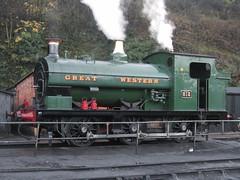 IMG_7937 - GWR Hudswell Clarke Saddle Tank 813 (SVREnthusiast) Tags: severnvalleyrailway svr severnvalley severn valley railway gwrhudswellclarkesaddletank813 gwr hudswellclarke saddletank 813